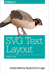 SVG Text Layout: Words as Art (Paperback)-cover