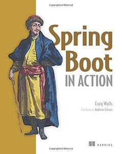Spring Boot in Action (Paperback)-cover