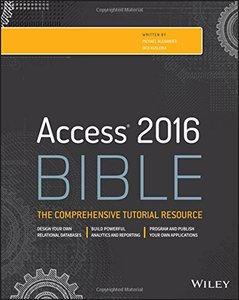 Access 2016 Bible (Paperback)-cover