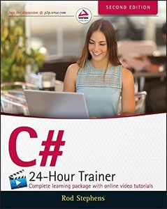 C# 24-Hour Trainer, 2/e (Paperback)-cover
