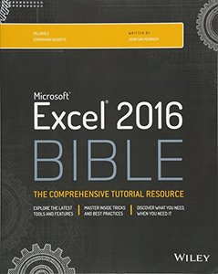 Excel 2016 Bible (Paperback)-cover