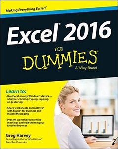 Excel 2016 For Dummies (Paperback)-cover
