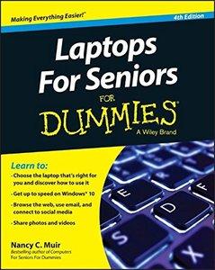 Laptops For Seniors For Dummies, 4/e(Paperback)-cover