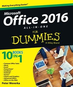 Office 2016 All-In-One For Dummies (Paperback)-cover