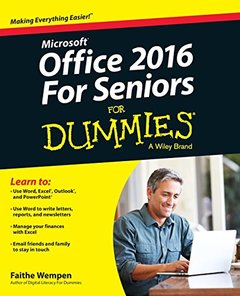 Office 2016 For Seniors For Dummies(Paperback)-cover