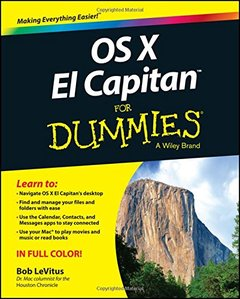 OS X El Capitan For Dummies(Paperback)-cover