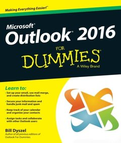 Outlook 2016 For Dummies(Paperback)-cover