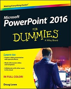 PowerPoint 2016 For Dummies(Paperback)-cover