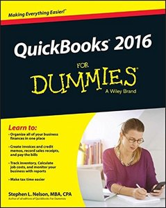 QuickBooks 2016 For Dummies(Paperback)-cover