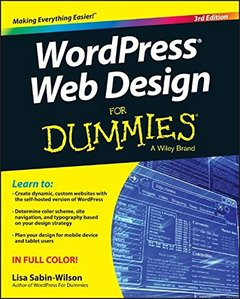 WordPress Web Design For Dummies, 3/e (Paperback)-cover