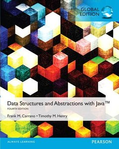 Data Structures and Abstractions with Java, 4/e【內含Acess Code,經刮除不受退】(IE-Paperback)-cover