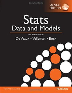 Stats: Data & Models, 4/e (Paperback)-cover