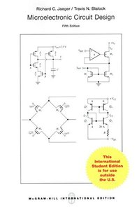 Microelectronic Circuit Design, 5/e (IE-Paperback)-cover