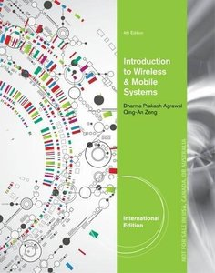 Introduction to Wireless and Mobile Systems, 4/e (Paperback)-cover