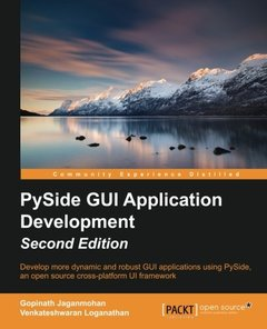 Pyside GUI Application Development,  2/e(Paperback)-cover