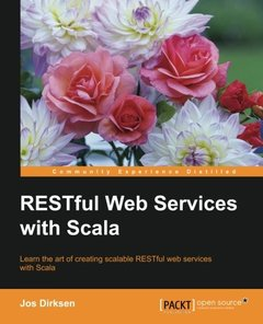 RESTful Web Services with Scala (Paperback)-cover