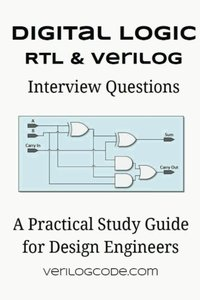 Digital Logic RTL & Verilog Interview Questions (Paperback)-cover