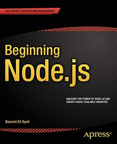 Beginning Node.Js (Paperback)-cover