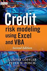 Credit Risk Modeling using Excel and VBA, 2/e (Hardcover)-cover