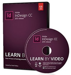 Adobe InDesign CC Learn by Video-cover