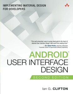Android User Interface Design: Implementing Material Design for Developers, 2/e (Paperback)-cover