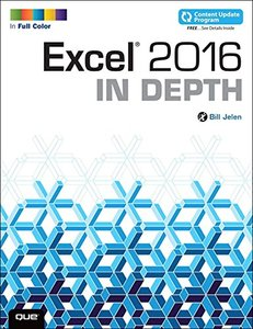 Excel 2016 In Depth (Paperback)-cover