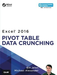 Excel 2016 Pivot Table Data Crunching-cover