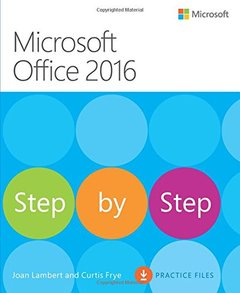 Microsoft Office 2016 Step by Step (Paperback)-cover