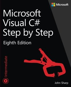 Microsoft Visual C# Step by Step, 8/e (Paperback)-cover