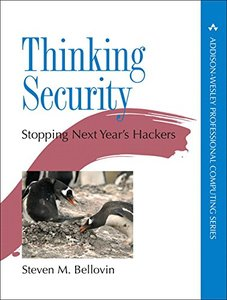 Thinking Security: Stopping Next Year's Hackers (Hardcover)-cover