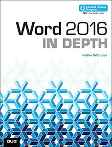 Word 2016 In Depth (Paperback)-cover