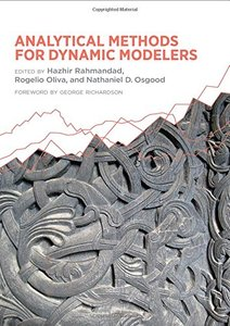 Analytical Methods for Dynamic Modelers Hardcover-cover