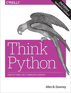 Think Python: How to Think Like a Computer Scientist, 2/e (Paperback)-cover
