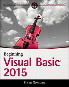 Beginning Visual Basic 2015 (Paperback)-cover