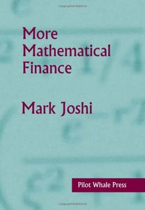 More Mathematical Finance (Hardcover)-cover