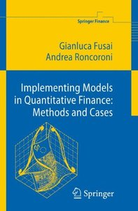 Implementing Models in Quantitative Finance: Methods and Cases (Hardcover)-cover