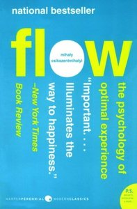 Flow: The Psychology of Optimal Experience (Paperback)-cover