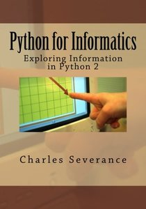Python for Informatics: Exploring Information (Paperback)-cover