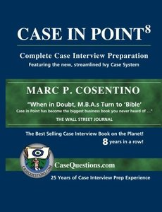 Case In Point: Complete Case Interview Preparation, 8/e (Paperback)-cover