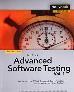 Advanced Software Testing - Vol. 1 : Guide to the ISTQB Advanced Certification as an Advanced Test Analyst, 2/e(Paperback)-cover