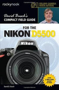 David Busch's Compact Field Guide for the Nikon D5500-cover