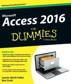 Access 2016 For Dummies(Paperback)-cover
