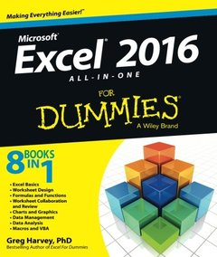 Excel 2016 All-in-One For Dummies(Paperback)-cover