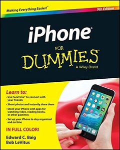 iPhone For Dummies, 9/e(Paperback)-cover
