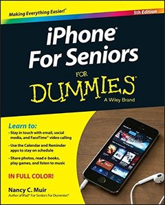 iPhone for Seniors for Dummies, 5/e(Paperback)-cover