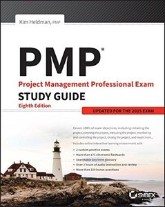 PMP: Project Management Professional Exam Study Guide: Updated for the 2015 Exam, 8/e (Paperback)-cover