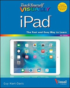 Teach Yourself VISUALLY iPad: Covers iOS 9 and all models of iPad Air, iPad mini, and iPad Pro(Paperback)-cover