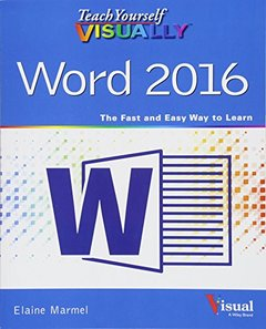 Teach Yourself VISUALLY Word 2016 (Paperback)-cover