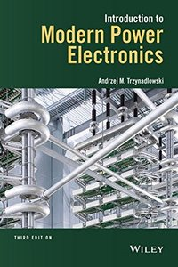 Introduction to Modern Power Electronics, 3/e(Hardcover)-cover
