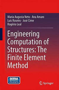 Engineering Computation of Structures: The Finite Element Method 2015 Edition(Hardcover)-cover